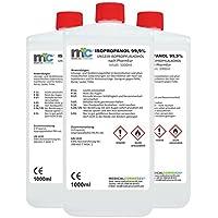 3x 1000 ml Medicalcorner24® Isopropanol 99,9% Isopropylalkohol Cleaner 2-Propanol preisvergleich bei billige-tabletten.eu