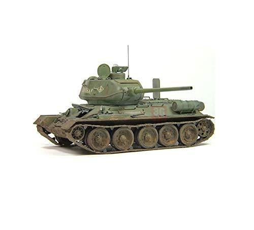 EP-model Modell Spielzeug, Weltkrieg ISS sowjetischen T34-85 Panzer Modell, Vintage Military dekorative Souvenirs (Weltkrieg Modell Ein Panzer)