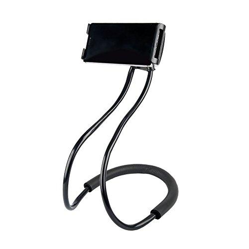 Lazy Halterung Handy Halter - Universal hängen auf Hals Lazy Handy DIY Halterung Gratis drehbar Ständer auf Tisch Smart mehrere Funktionen Handy-Halterung Ständer