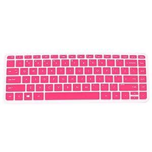 clavier de protection housse coque silicone rose pour ordinateur portable hp pavilion 14 amazon. Black Bedroom Furniture Sets. Home Design Ideas