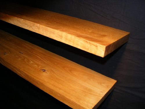 Solid Oak Floating Shelf 1000x150x35mm