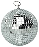 Argent 100 mm Léger Mirror Ball Soundlab G007AA