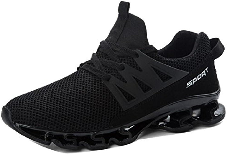 Zapatillas deportivas ligeras para correr para hombre Zapatillas de senderismo de punto Zapatos deportivos transpirables  -
