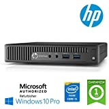 """Ultraslim PC Hp Elitedesk 800 G1 Dm Core I5-4590T 8Gb Ram 500Gb Noodd Windows 10 Professional con LICENZA NUOVA ORIGINALE MAR """"Microsoft Authorized Refurbisher"""" (Ricondizionato Certificato)"""