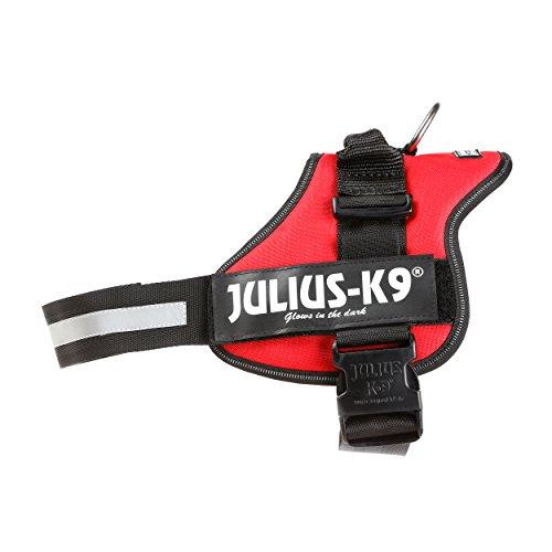 Julius-K9, Pettorina K9, Taglia: 2, Colore: Rosso