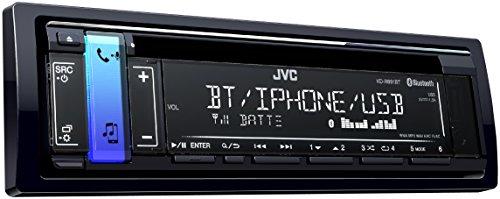 JVC KD-R891BT CD-Receiver mit Bluetooth-Freisprechfunktion und Audiostreaming schwarz