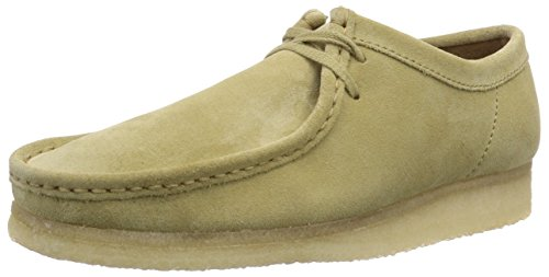 clarks-originals-wallabee-herren-moccasins-beige-maple-suede-45