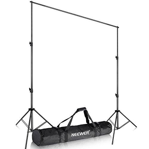 Neewer® 10'x12 '/ 3M x 3.6M Pro Fotografie Studio Video Einstellbare Kulisse Unterstützungssystem Ständer mit Tragetasche für Hintergrund-Hintergrund 3 X Video
