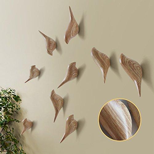 Baffect multiusos resina soporte de pared gancho percha soporte en diseño  de pájaros para perchero sombrero f50420b13eb
