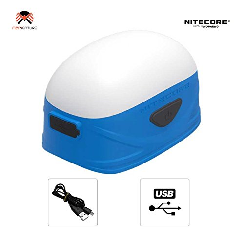 Nitecore LA30 Wasserdichter Camping Lanterne - 8 CRI LED 250lm & 3 Rotlicht [ BLAU ]