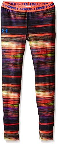 Under Armour Mädchen Fitness HG Printed Legging Hosen & Shorts, Black, S -