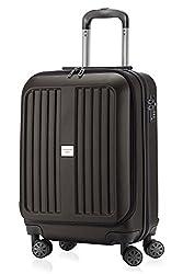 HAUPTSTADTKOFFER - X-Berg - Handgepäck Koffer Trolley Hartschalenkoffer, TSA, 55 cm, 42 Liter, Graphit matt