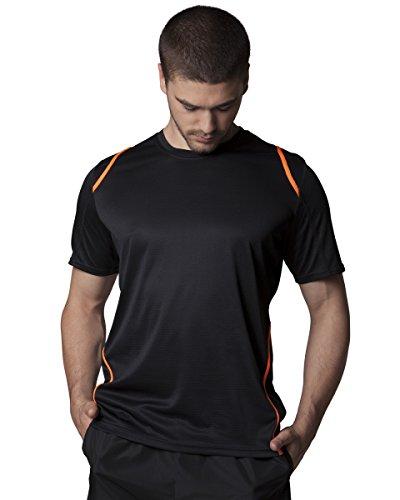 Sportivi Gamegear Cooltex a maniche corte T-Shirt Navy/Light Blue