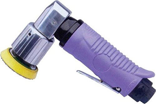 Preisvergleich Produktbild Craft-Equip Mini Druckluft Exzenterschleifer 75mm + 50mm Klett-Schleifteller im Lieferumfang
