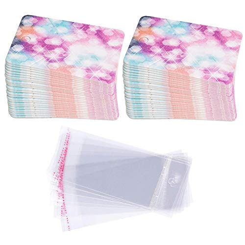 Etiquetas de regalo de papel tarjetas de aretes