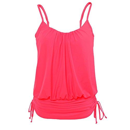 meinice-womens-rosy-zigzag-print-spaghetti-strap-tankini-swim-top-xl