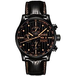 Mido M005.614.36.051.22 - Reloj Multiesfera Para Hombre, color Negro