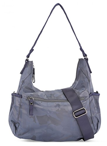 reputable site c7305 2209b George Gina Lucy Swingeling Schultertasche 34 Cm Camou Navy -  portraitpressfundraising.com