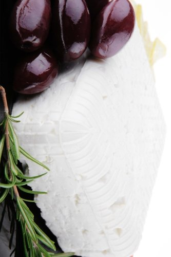 Greek Feta Cheese and Olives: Lined Journal for Your Thoughts, Ideas, and Inspiration