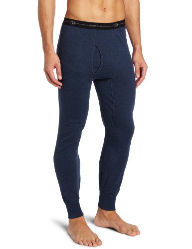 Duofold Men's Mid Weight Double Layer Thermal Pant, Blue Jean, Large (Duofold Jeans Blue)