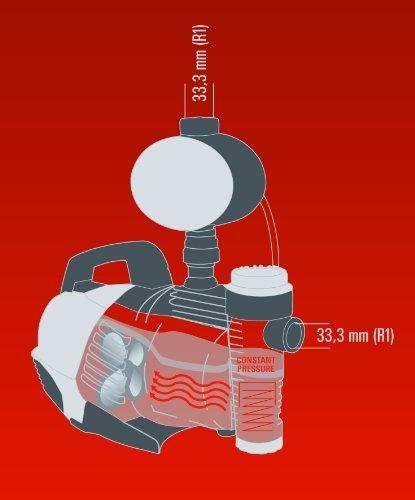 Einhell Hauswasserautomat GE-AW 9041 E (900 W, 4100 l/h Fördermenge, max. Förderhöhe 48 m, Vorfilter mit integriertem Rückschlagventil) - 11