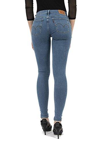 Levi's® Damen Jeans 710 Super Skinny Stoned Blue