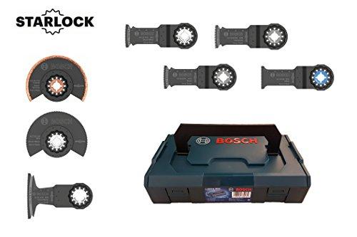 Bosch 7tlg. Starlock Premium Sägeblätter Set in mini L-Boxx
