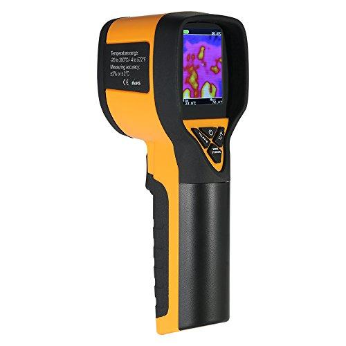 KKmoon -20~300 ° C / -4~572 ° F Termometro a Infrarossi per Termocamera Digitale Portatile con Display LCD