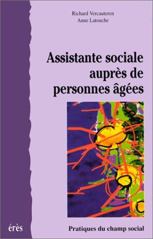Assistante sociale auprès de personnes âgées