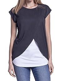 Amazon.es: ropa premama - Blusas y camisas / Camisetas, tops y blusas: Ropa