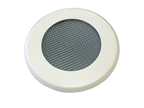 Keine Pest Einbauleuchte Abdeckung Ersatz Kit für Outdoor Deckenleuchte Canned Leuchten-inklusive Montagering, Teller und, Keep Out Insekten-hergestellt in den USA Modern 1 Pack weiß -