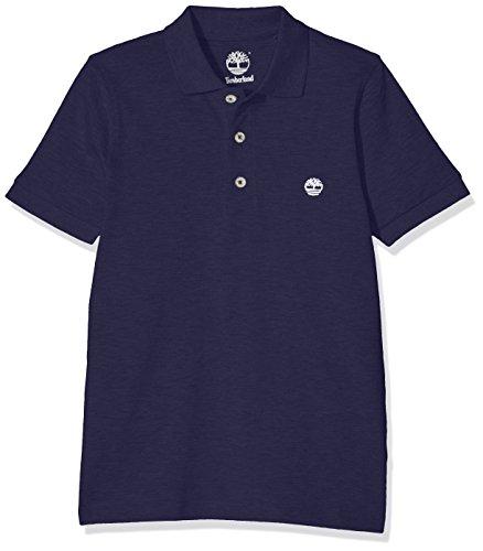 Timberland Jungen T-Shirts Short Sleeve Polo, Blau (Marineblau), 8 Jahre (126 cm) Preisvergleich