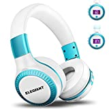 ELEGIANT Bluetooth Kopfhörer, Wireless Headset On Ear Stereo HiFi Headphone drahtloser kabelloser...