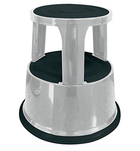 Q-Connect KF04845 Tabouret marchepied métallique 1 gris