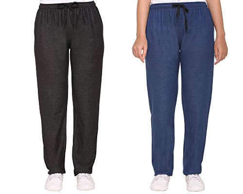 Track pants For Women Combo Pack Of 2 – CUPID Stretchable Denim...