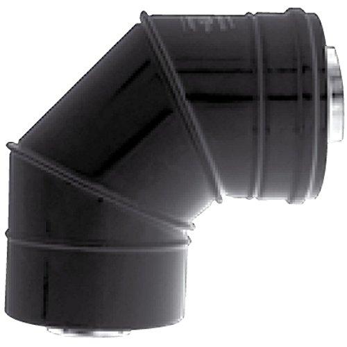 Coude concentrique BIOTEN 87 inox/galva D80/125 470980