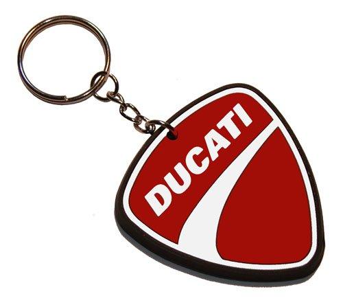 """Preisvergleich Produktbild Schlüsselanhänger """" Ducati """" 5 x 5 cm"""