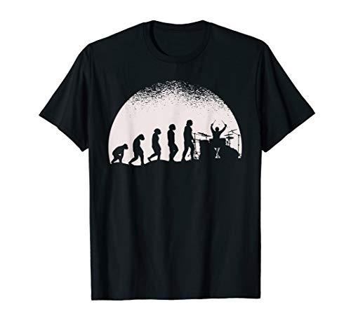 Vollmond-kinder T-shirt (Evolution Schlagzeug T-Shirt Vollmond Drummer Schlagzeuger)