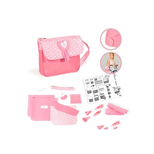 La Nina - Kit de costura bolso, color rosa, 18 x 20...
