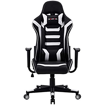 GTPLAYER Gaming Chair with Speakers Bluetooth Music Audio Racing Office Chair Heavy Duty 400lbs Ergonomic Multi-Function E-Sports Chair for Pro Gamer Pink