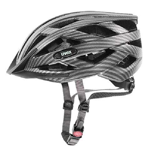 Uvex Erwachsene I-VO CC Fahrradhelm Black Carbon Look Mat 52-57 cm