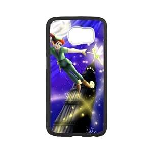 Peter Pan Samsung Galaxy S6 Cell Phone Case Black xlb-088785