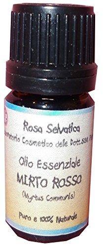 Olio essenziale puro di Mirto Rosso - antisettico, astringente, decongestionante