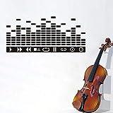 ZXIU Stickers muraux Musique DJ ...