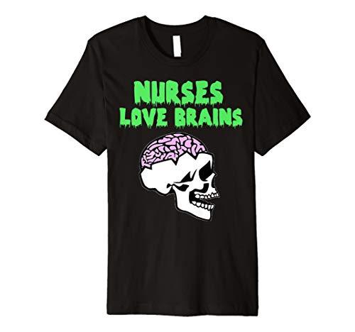 Krankenschwestern Love Brains Shirt