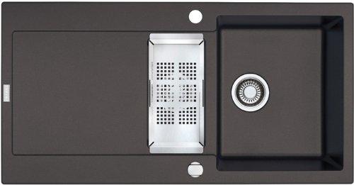 Preisvergleich Produktbild Franke Maris MRG 651 Graphit Granit-Spüle Dunkelgrau Einbauspüle Küchenspüle