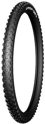 Michelin Wild Grip'R Advanced Reinforced, Pneu VTT, Tringle Souple, Tubeless Ready, Gum-X, Noir, 26 X