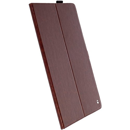 Krusell ekerö (Gemeinde) Ordner Braun–Schutzhüllen für Tablet (Rückenlehne, braun, Kunstleder, Mikrofaser, Apple, iPad Pro 9.7)