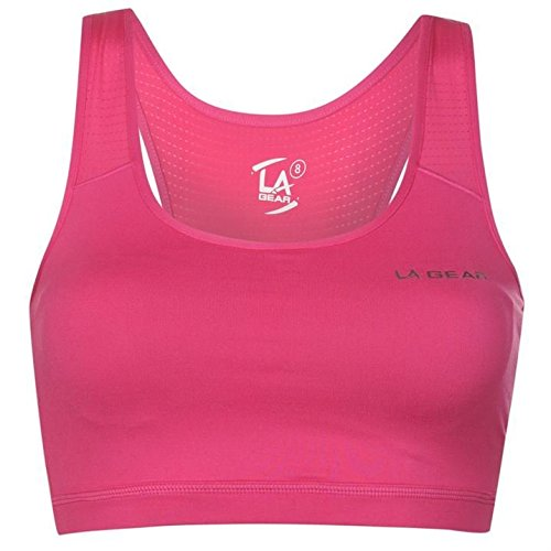la-gear-womens-crop-top-bra-ladies-breathable-racer-back-sports-training-running-pink-14-l