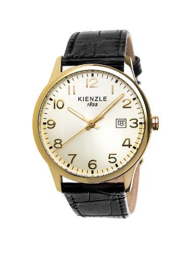 Kienzle - K3043029141-00378 - Montre Homme - Quartz Analogique - Bracelet Cuir Noir
